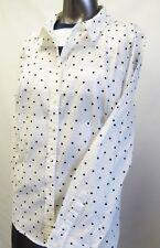 Tommy Hilfiger,Neu mit Tags,Bluse,Hemd,gepunktet,Weiß/Schwarz,XL(USA),Gr.44