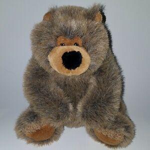 "Fiesta Brown Honey Bear Plush 8"" Stuffed Animal Toy Teddy Lovey Realistic"