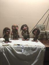 Vintage Norway Family Of Trolls