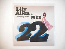 LILY ALLEN & OURS : 22 ( VINGT DEUX ) ♦ CD SINGLE PORT GRATUIT ♦