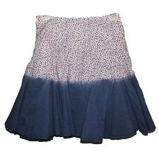 NEW LADIES GIRLS SOUTH EX CAT PRETTY FULL 2-TONE FLORAL SKIRT SZ 22 44W / 20L