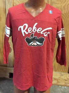 NWOT NCAA UNLV Rebels Long Sleeve Womens Shirt Sz Large
