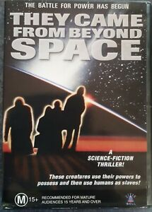 THEY CAME FROM BEYOND SPACE DVD (PAL, 1967) FREE POST