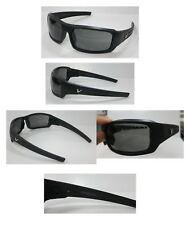Vypr Ballistic Sport Sunglasses-Model-Black subdued Frame-Gray Lens1