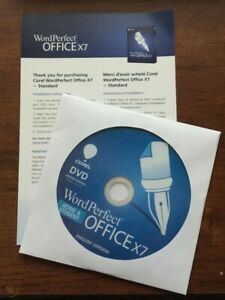 Corel WordPerfect Office X7 Home & Student Edition DVD for up to 3 PC