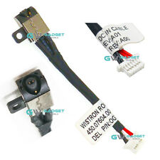 DC Jack Power Plug Cable Wire for Dell Inspiron 11 3162 3179 3164 3169 Laptop