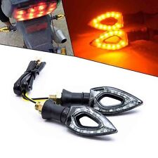 2x LED Turn Signals Light Indicators Motorcycle Hyosung GT250R GT650R GT 250R