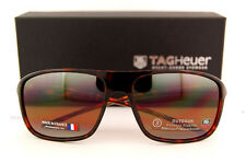 Brand New TAG Heuer Sunglasses 6041 211 Tortoise/Pure/Outdoor-Brown for Men