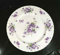 Beautiful Aynsley Wild Violets Dinner Plate