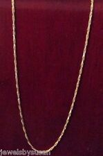 Rope chain necklace solid 18kt y/g 4.55gr 19.75inch long nice chain