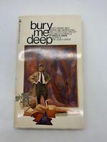 Bury Me Deep Harold Masur 1969 Vintage Mystery PB Sleaze Pulp Pin Up Sex FH