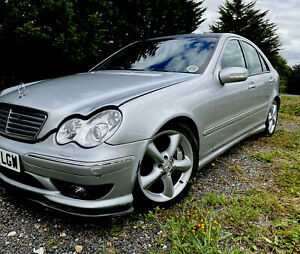 Breaking C32 Amg Look-a-like Mercedes Benz C Class W203 C270cdi Coilovers Ect
