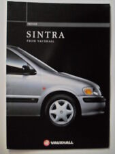 VAUXHALL SINTRA orig 1996 UK Mkt Preview Sales Brochure - CD CDX