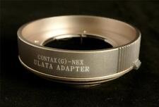 ULATA Lens Mount Adapter Contax G to Sony NEX E Camera A6000 A7 R A7II CGNU