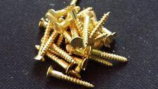 200 Schlitz Holzschrauben DIN 97 Messing 3 X 20 MS