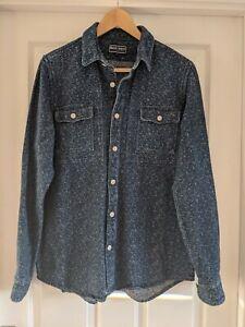 Shore Leave Men's Blue Shirt Shacket Medium