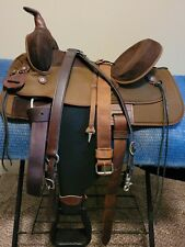Circle Y Park and Trail cordura trail saddle package- breastcollar and pad