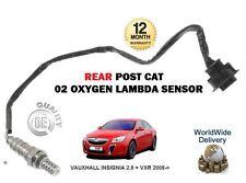 für Opel Insignia 2.8 + VXR 2008- > NEU hinten Pfosten Katalysator 02