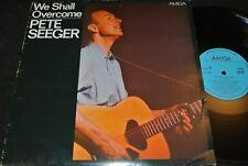 Pete Seeger We shall overcome/RDA reissue LP 1986 Amiga 845038