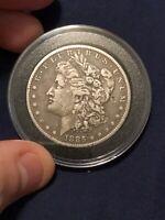 1885-O Morgan Silver Dollar XF