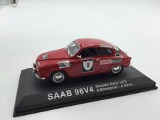 saab 96 v4 blomqvist-hertz suède 1972  n46/70 1/43 voitures de rallye