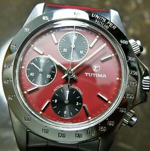 Vintage TUTIMA Chronograph/ Valjoux.7750 /Automatic/ MEN'S WATCH
