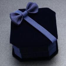 Schleife Schmuckschachtel Geschenkkarton Schmucketui Ringetui Ringebox Kasten