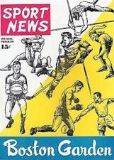 1946 Boston Celtics Program 1st Game At Boston Garden 1st Win in Team Hstory