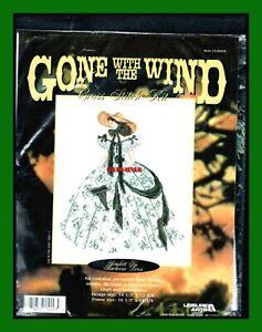 CROSS STITCH KIT Scarlett O'Hara in the 12 Oaks  BBQ  dress  Gone With the Wind