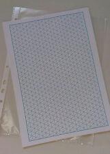 Grille isométriques papier (20 feuilles 10mm triangles)