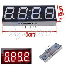 """1 Pcs 0.56"""" 7-Segment 4 Digit Super Red LED Display Common Anode Time 12 pins"""