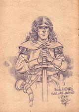 La Mort de Roland. Oncle Paul. Avec DESSIN de PAAPE