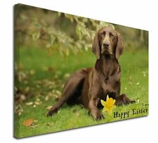 More details for 'happy easter' german pointer x-large 30