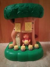Winnie the Pooh Push-Button Hunny Tree - Vintage - Very Rare - Early 1970s