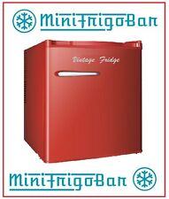 Mini Frigo Bar Frigorifero VINTAGE anni 50 Piccolo ROSSO da Ufficio Camera RED