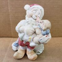 Dreamsicles Cast Art Santa's Elf Figurine DX240 Signed Kristin 1994 Christmas