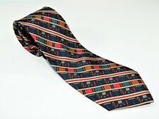 Men's Vintage BRITISH MUSEUM NECKTIE Tie MADE IN ENGLAND ART DECOR