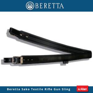 Beretta Sako Textile Rifle Gun Sling Hunting Black No Swivels Sl35