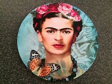 Frida Kahlo Custom Butterfly & Roses Mouse Pad