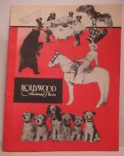 Old Hollywood Animal Stars Theater Program Book - Daisy Dogfood Advertising