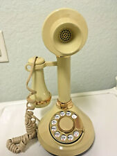 Vintage Candlestick Rotary Telephone American Telecommunications