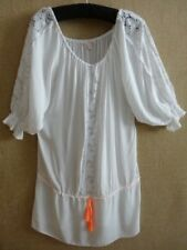 VICTORIA'S SECRET S SMALL COVERUP BEACH COVER UP FLIRTY BEACH DRESS BOHO