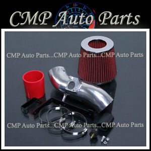 RED AIR INTAKE KIT SYSTEMS FIT 2003-2006 PONTIAC VIBE GT 1.8L L4 ENGINE
