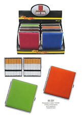 Portasigarette in metallo per 20 sigarette classiche KS mod AA531