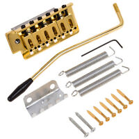 Guitar Tremolo Bridge Single Locking System Screw for Strat ST Style Guitar Gold