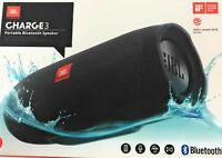 JBL Charge 3 Mobiler Lautsprecher schwarz kabellos Bluetooth