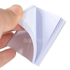 50Sheets Dental Disposable Mixing Sheets 2 Sides Paper 5.1x5.1cm(2x2 inch) #S