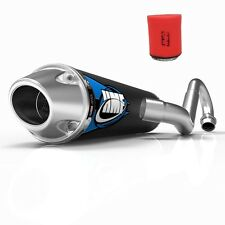 HMF Competition Comp Full System Exhaust + Uni Air Filter TRX 700XX 2008-2009