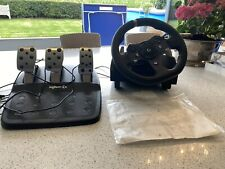 LOGITECH G920 DRIVING FORCE RACING /STEERING WHEEL + PEDALS XBOX ONE- USED ONCE