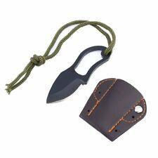 Mini Portable Finger Pocket Knife Camp Tool Outdoor Survival Fishing Neck Knives